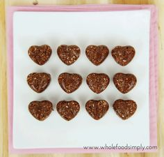 Mix and Make Coconut Chocolates. Far too easy and far too delicious! Free from gluten, grains, dairy, egg, nuts and refined sugar. Enjoy.
