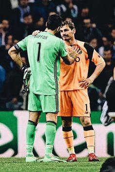Gigi Buffon  Iker Casillas  Porto-Juventus 0-2  22/03/17