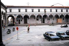 Brunelleschi, Foundling Hospital (Ospedale degli Innocenti), 1421   Flickr - Photo Sharing!