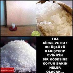 Evdeki Negatif Enerjiye Karşı : Tuz, Sirke ve Su Deneyin, İşe Yaradığını Göreceksiniz… Aslında bir çok kez, bir çok yerde negatif enerjiyi alan, huzur veren, nazarı önleyen taşlar oldu…