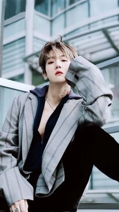 - Vogue Korea on December 2018 issue Baekhyun Chanyeol, Kpop Exo, Exo Chanyeol, Taemin, Shinee, K Pop, Vogue Korea, Day6 Sungjin, Rapper