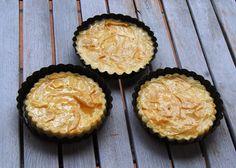 virutillas de chocolate: Tarta de queso con manzana