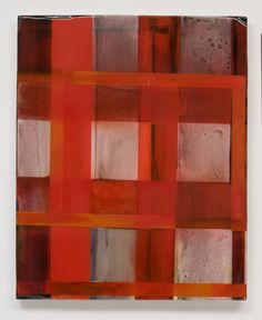 Stefan Annerel MENZIES 2011 acrylic and resin on panel and glass  106 X 86 cm