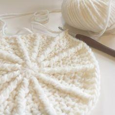 Ribbelkrukje haken Patroon (Dutch) Crochet pattern on blog