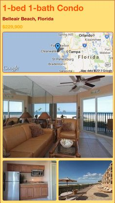 1-bed 1-bath Condo in Belleair Beach, Florida ►$229,900 #PropertyForSale #RealEstate #Florida http://florida-magic.com/properties/21485-condo-for-sale-in-belleair-beach-florida-with-1-bedroom-1-bathroom