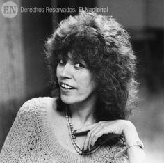 Sandra Bracho, primera mujer reportero gráfico del periódico El Nacional. Caracas, 14-06-1988 (JOSE SARDA / ARCHIVO EL NACIONAL)