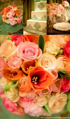 I think these are the colors I'm wanting for my wedding!