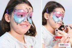 Tutorial per make-up da farfalla luccicante