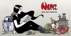 Bok om nerding av Lise Myhre Divas, Om, Snoopy, Reading, Books, Fictional Characters, Livros, Word Reading, The Reader