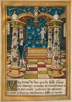FRANCE Clément MAROT Le temple de cupidon Likely an ancestor of Daniel Marot  I