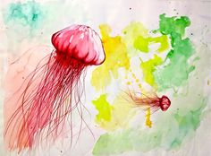 Watercolour / Artist Ame Soler