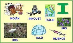 ABECEDA PÍSMENO I Kids Learning Activities, Alphabet, Preschool, Education, Reading, Logos, Google, Languages, Learning Activities For Kids