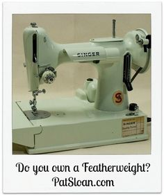 Read what I think about my machine!  sc 1 st  Pinterest & Who knew! Under that black Featherweight box - THIS ~ Zany Quilter ... Aboutintivar.Com