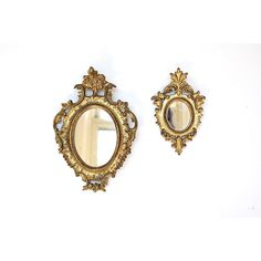 Small Decorative Mirrors ($36) ❤ liked on Polyvore featuring home, home decor and mirrors