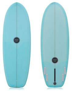 "Watershed 'Mini Shimmons' Blue Resin Tint 5'6"" In Stock"