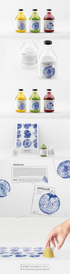 SINGULAR Fresh Juice (Concept) on Packaging of the World