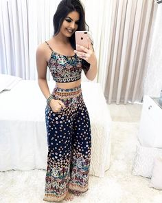 Outfits Juvenil – Page 5244791019 – Lady Dress Designs Trendy Outfits, Summer Outfits, Cute Outfits, Summer Dresses, Mode Chic, Love Fashion, Womens Fashion, Outfit Trends, Estilo Boho