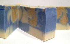 Mosaic Blue Orchid Artisan Soap Vegan Lightly Scented by Penori, $6.50