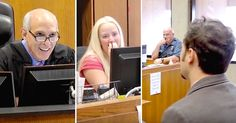 Kansas City court clerk Kalina Blosser went to work one afternoon expecting just another normal day. Before her next case arrived, Kalina took her seat beside Judge Joe Locascio in municipal Courtroom H. Then, the next case walked into court — and it was her boyfriend Mike Severo heading towards the stand. At first, Kalina...