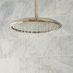 Complete your shower with the TOTO Aero Rain Showerhead - a large, fixed shower head in both modern and classic designs for more luxurious showers. Bathroom Hardware, Bathroom Fixtures, Fixed Shower Head, Sewage System, Water Droplets, Classic Series, Rain Shower, Save Water, Shower Heads