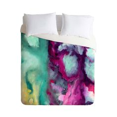 Like a river cutting through the desert, so too does this Teary Rivers Duvet Cover cut through the minutia of life to get right to the heart of what we love about art and color. Designed with modern ab...  Find the Teary Rivers Duvet Cover, as seen in the Bedroom Refresh Sale: Bedding Collection at http://dotandbo.com/collections/january-bedding-sale-bedding?utm_source=pinterest&utm_medium=organic&db_sku=100639