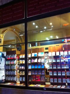 Bookstore in Istanbul