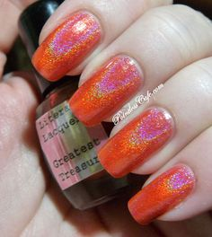 Greatest Treasures Full Size Nail Lacquer  Gift by LiteraryLacquer, $10.00