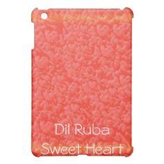 Romantic D I L - R U B A  DilRuba SweetHeart Cover For The iPad Mini