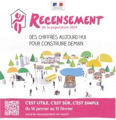Début du recensement à Bernay et partout en France dès ce 16 janvier 2014...