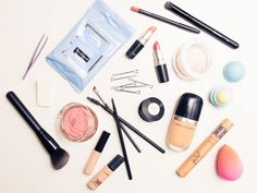 """I was going for a fun, glowy summer look. I like to keep it natural especially on hot summer days.""  http://www.thecoveteur.com/beauty-routine-jasmine-sanders-golden-barbie/"