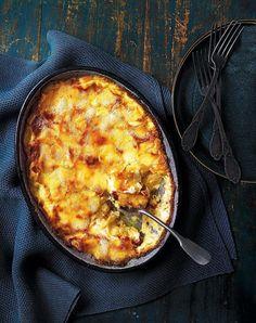 Tartiflette recipe | delicious. magazine Tartiflette Recipe, Gratin Dish, Good Food, Yummy Food, Tasty, French Alps, Potato Dishes, Mets, Chicken Recipes