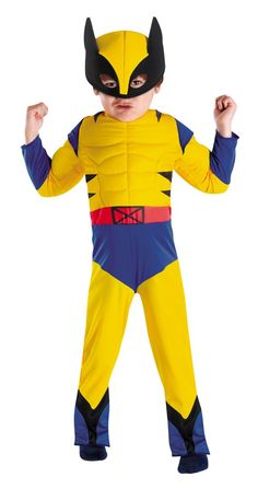 Wolverine Muscle 3T-4T - Halloween Costumes  sc 1 st  Pinterest & Child Muscle Iron Patriot Costume | For the kiddo | Pinterest ...