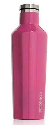 16oz Pink Gloss Corkcicle Canteen | underthecarolinamoon.com