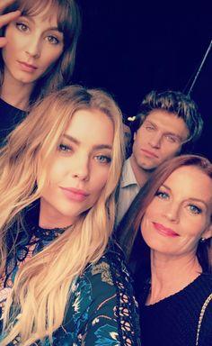 #PLL cast via Ashley's snapchat