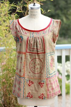 Ruby Sewing Pattern PDF (Can be made with a woven yoke and ...