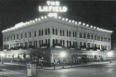 L.H. Fields building downtown Jackson MI
