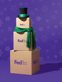 FedEx: Holiday | Holiday Cheer | Pinterest | Target audience and ...