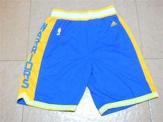 Men's NBA Golden State Warriors Blue Short