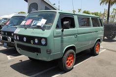VW Volkswagen Bus T3 T25 by KDFKID, via Flickr
