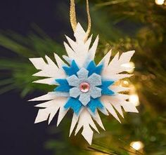 Elsa's Snowflake Ornament, How to Make it!