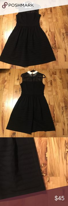 SALE | Betsy Johnson | illusion neck 💕 Black Betsy Johnson illusion neckline dress | worn once | no visible wear and tear | open to offers 💕 Betsey Johnson Dresses Mini