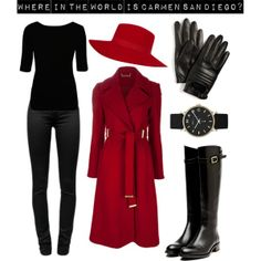 """Where in the World is Carmen San Diego?"" by iheartyourpsyche on Polyvore"