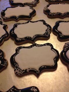 Plaque sugar cookies