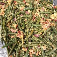 Gentry Ann: Bacon and Parmesan Green Beans