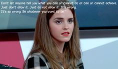 HeForShe Conversation with Emma Watson on International Women's Day 2015 Emma Watson Feminism, Emma Watson Quotes, Ema Watson, Women Empowerment Quotes, Intersectional Feminism, Girls Rules, Powerful Women, Woman Quotes, Role Models