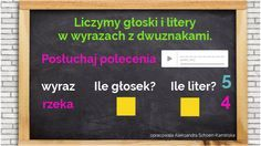 Discover more about głoski, litery w wyrazach z dwuznakami ✌️ - Personalized Company Logo, Education, Frame, Kids, Picture Frame, Young Children, Boys, Children, Onderwijs