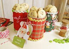 PAP • Lata de Biscoitos de Natal * BoniFrati