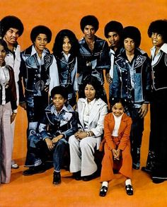 The Jacksons. Rebbie all cut off on the side there.