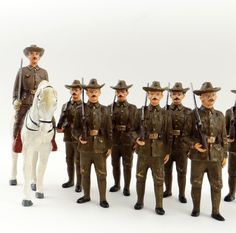 Heyde, Elastolin, Pfeiffer Rough Riders Toy Soldiers. | eBay