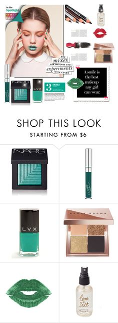 """A smile is the best makeup any girl can wear"" by curlysuebabydoll ❤ liked on Polyvore featuring beauty, NARS Cosmetics, LVX, Bobbi Brown Cosmetics, Garance Doré, Avon, Olivine, Kate Spade, Beauty and polyvoreeditorial"